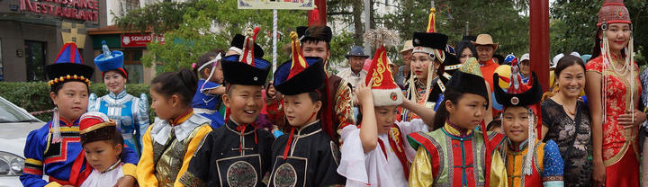 Mongolian Traditional Clothes