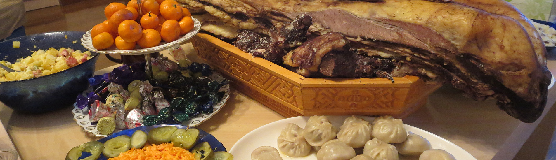 Mongolian traditional food and beverage