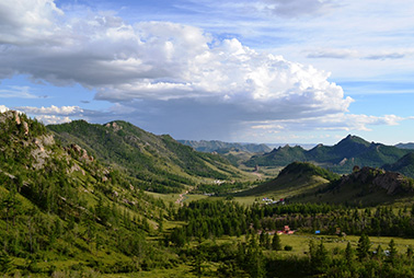 khentii mountains
