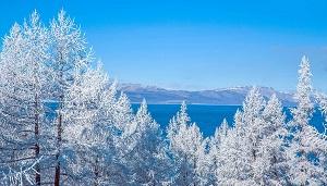 Khuvsgul, Winter view